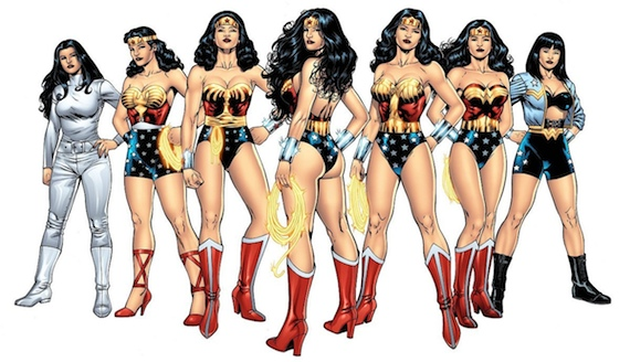 Various-Wonder-Woman-Costumes