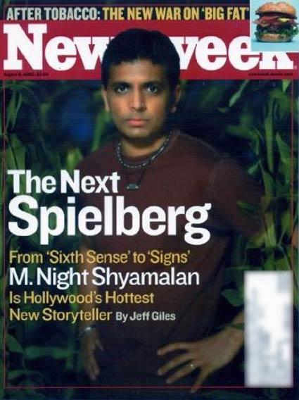 shyamalan newsweek cover