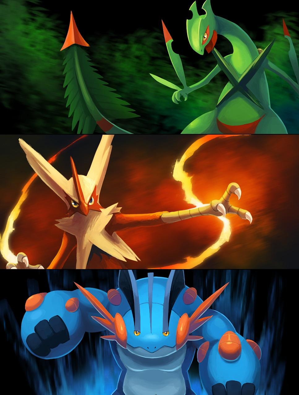 mega_hoenn_starters_by_arkeis_pokemon-d7lphnq